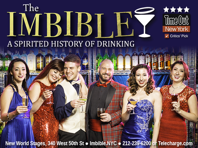 The Imbible: A Spirited History of Drinking at Nwe World Stages